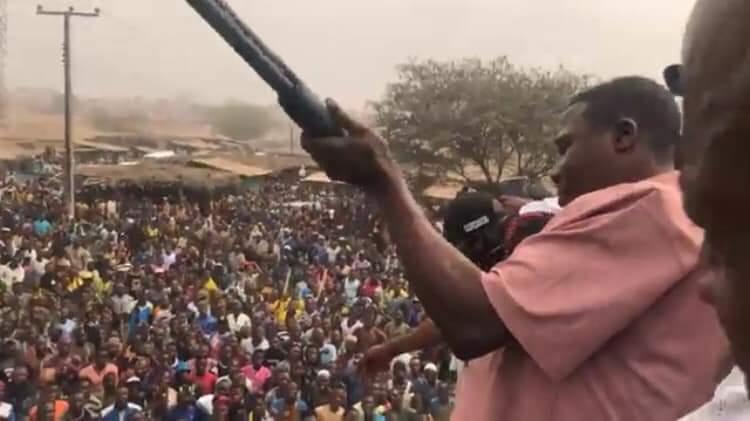 Igboho is a gunrunner, FG